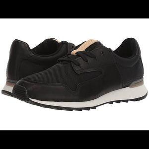 🆕 Floura Mix Black Leather Sneaker
